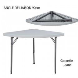 ANGLE DE LIAISON 90cm Pour table rectangulaire L 200 et L 240 largueur 90cm