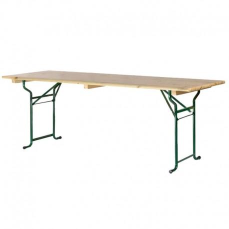 table de brasseur 220x80