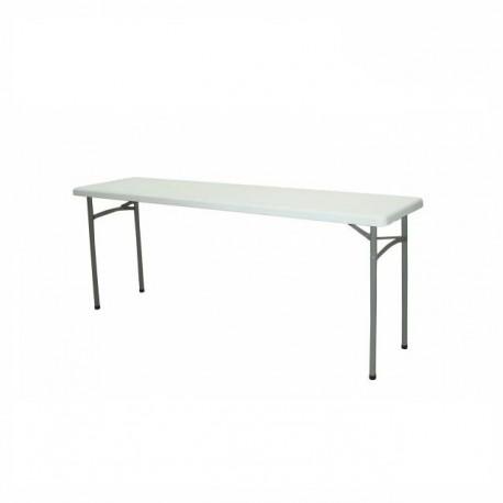 table buffet poly thyl ne 200 x l 45 x hauteur 89cm. Black Bedroom Furniture Sets. Home Design Ideas