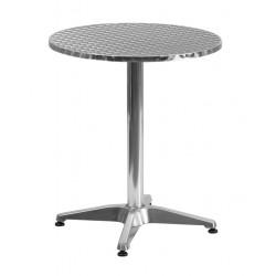 Guéridon diamètre 60cm aluminium
