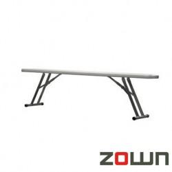 Banc pliant polyéthylène pour table XL180 183x76
