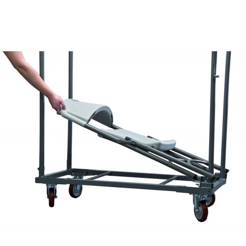 chariot de transport pour chaises norman capacit 27 chaises. Black Bedroom Furniture Sets. Home Design Ideas