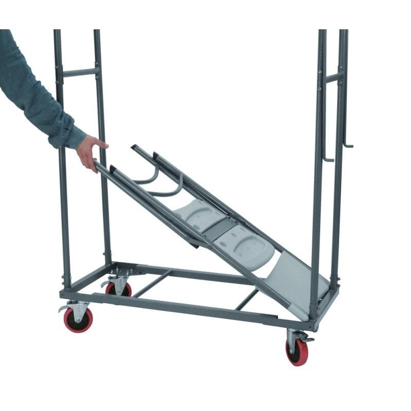 chariot de transport pour chaises otto capacit 30 chaises. Black Bedroom Furniture Sets. Home Design Ideas