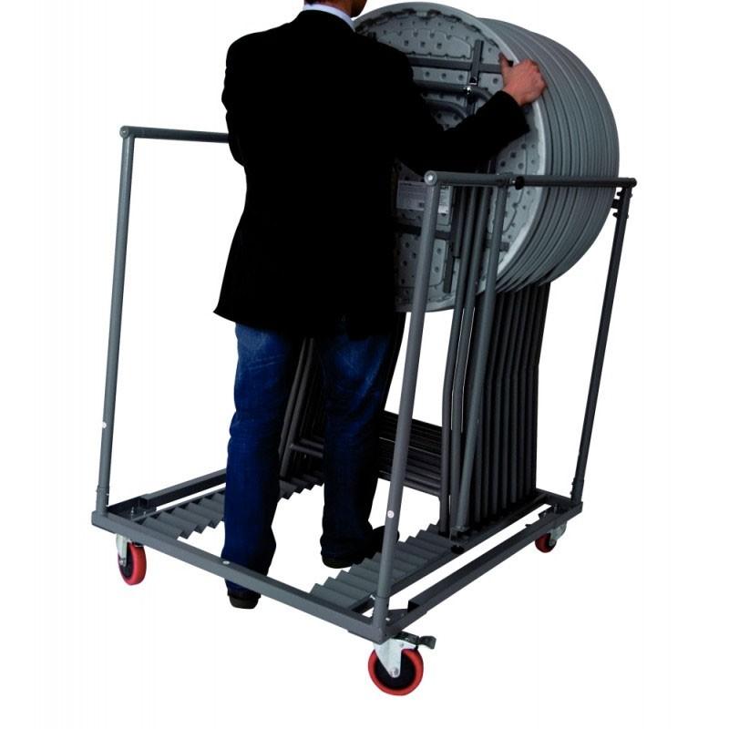 chariot pour mange debout capacit de 20 mange debout. Black Bedroom Furniture Sets. Home Design Ideas