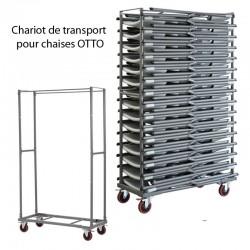 Chariot de transport pour chaises OTTO Capacité 30 chaises