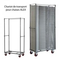 Chariot de transport pour chaises ALEX Capacité 60 chaises