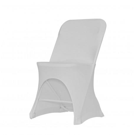 Housse stretch pour chaise alex - Housse pour chaise pliante ...