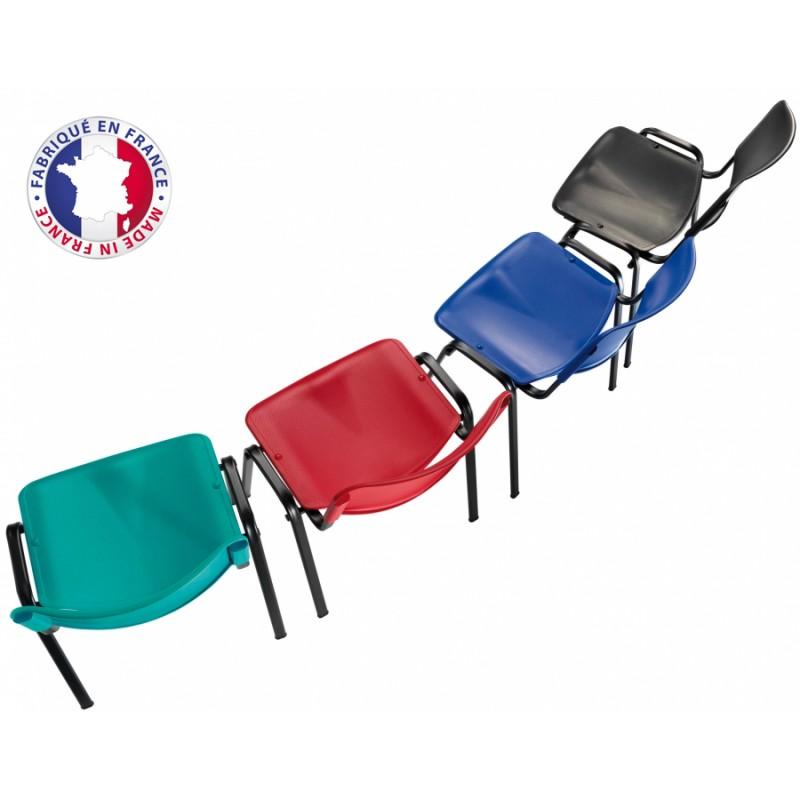 chaise plastique r union m2 accrochable empilable. Black Bedroom Furniture Sets. Home Design Ideas