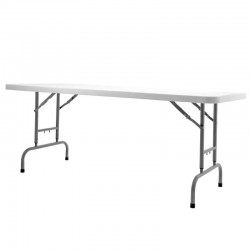 Table traiteur 180 Table traiteur WORKTOP pliable à hauteur réglable