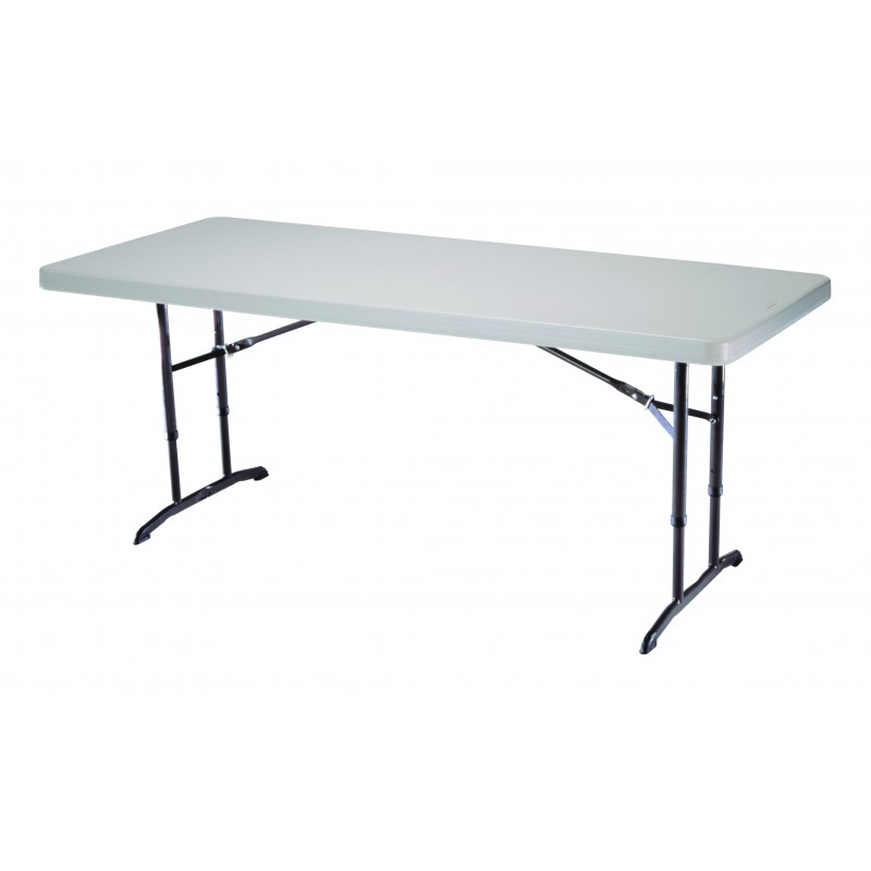 Table traiteur enfants 183 x 76cm lifetime pliable for Table exterieur suisse
