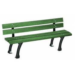 Banc Urbain Glasgow vert