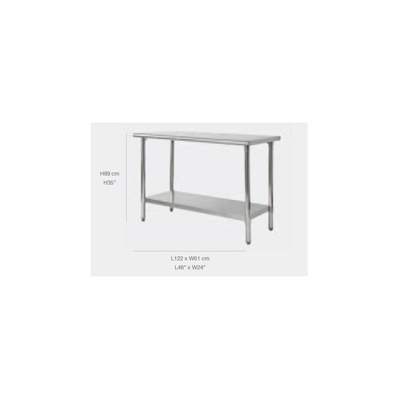 table traiteur table de travail ou table de r ception. Black Bedroom Furniture Sets. Home Design Ideas