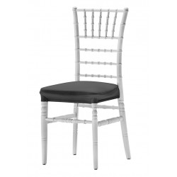 Coussin d'assise intégral en stretch pour chaise liguria I