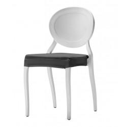 Coussin d'assise intégral en stretch pour chaise Medaillon I