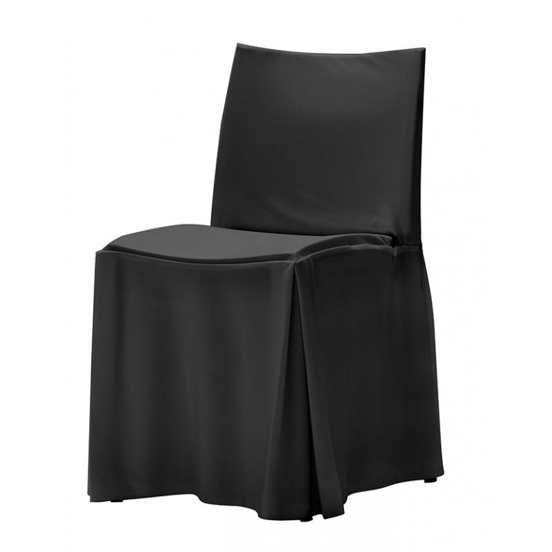 Housse classique rembourr e pour chaise magnus - Housse pour chaise pliante ...