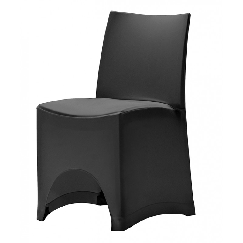 housse en stretch rembourr e pour chaise magnus. Black Bedroom Furniture Sets. Home Design Ideas