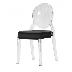 Coussin d'assise intégral en stretch pour chaise Medallion II