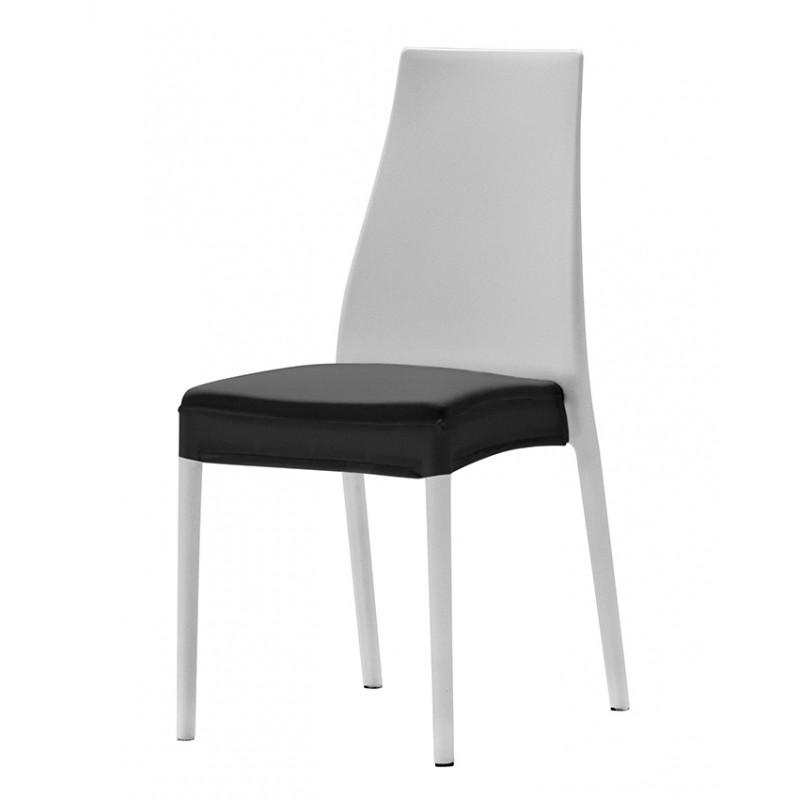 Coussin d 39 assise int gral en stretch pour chaise valentina - Housse pour assise de chaise ...