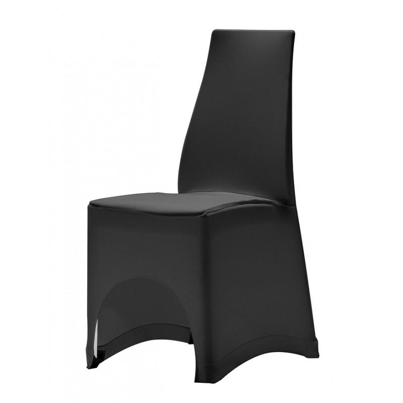 housse stretch rembour e pour chaise valentina. Black Bedroom Furniture Sets. Home Design Ideas