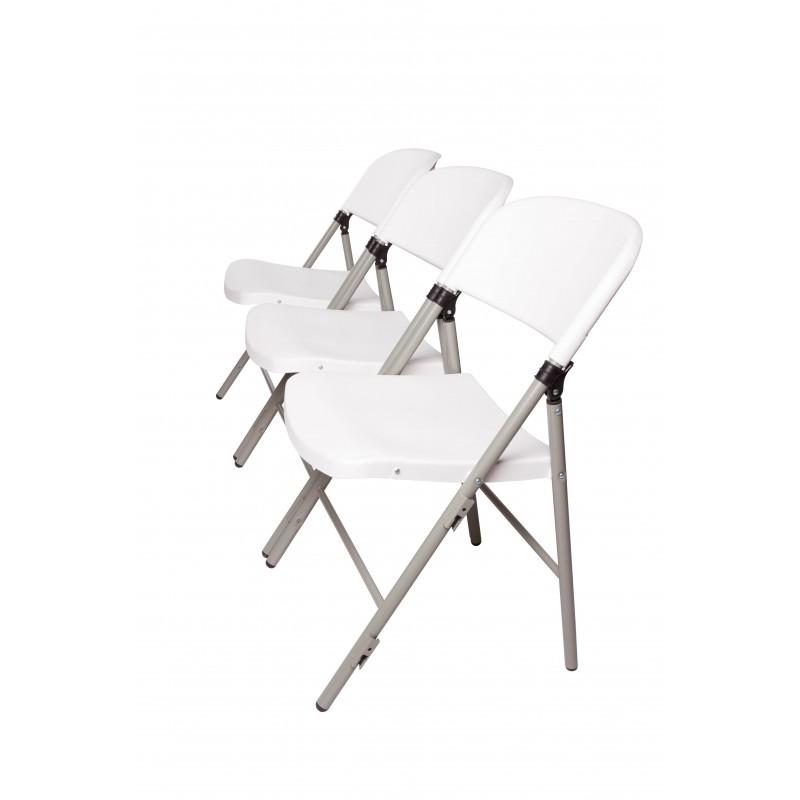Chaises pliantes en polypropyl ne accrochables barre de - Chaises de bar pliantes ...