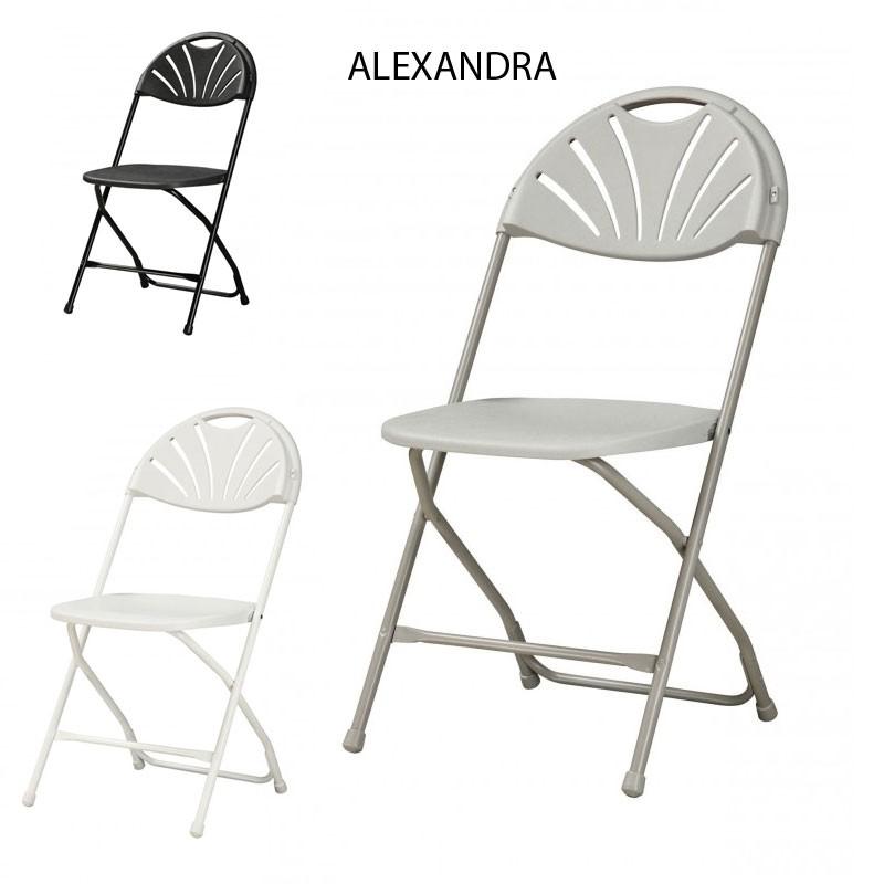Table pliante chaises integrees beliani aluminium meuble for Table cuisine pliante avec chaises integrees